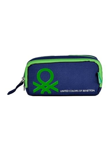 012 Benetton Kalem Çantası Lacivert